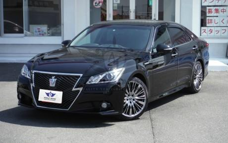 TOYOTA CROWN 2013 Black | VIN: AWS210-601*** | Package : Athlete S | Engine : HYBRID, AT, 2500cc AAC | READY TO SHIP | DISCOUNT OFFER 20% OFF | DISCOUNTED PRICE
